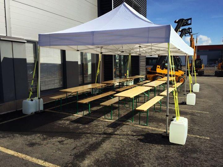 Meiltä monipuoliset ja turvalliset telttaratkaisut! Telttakoot 9-500 neliömetrin…