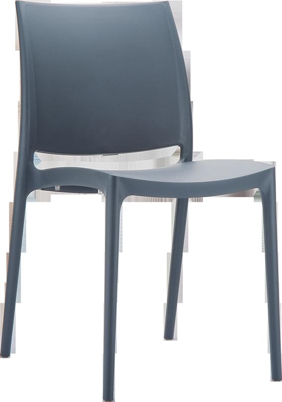 harmaa tuoli